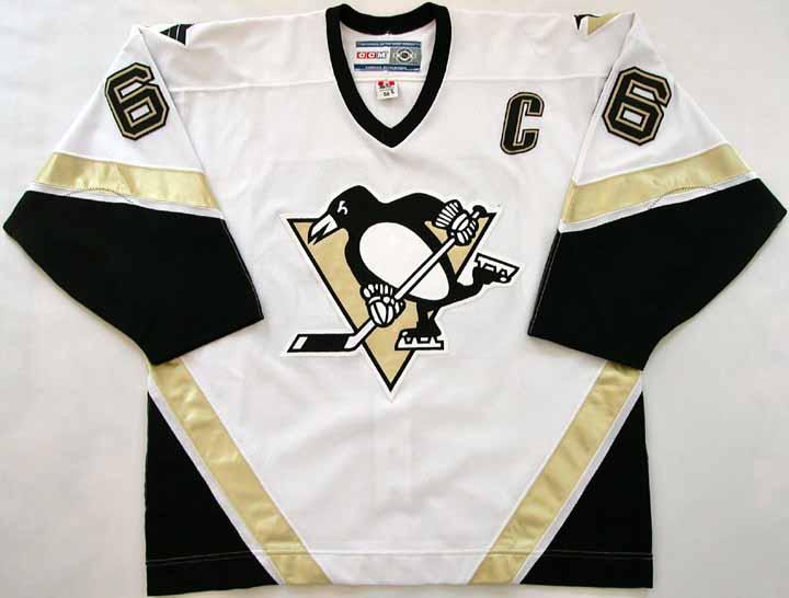 los angeles 21920 a00d7 2005-06 Mario Lemieux Penguins Game Worn Jersey - Last ...