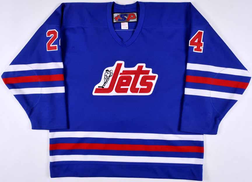 premium selection d79cc 6901f 2003-04 Justin Morrison Manitoba Moose Game Worn Jersey ...