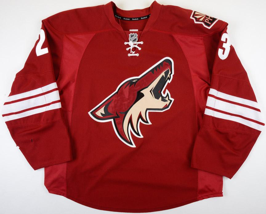 official photos 3e5ea bd6cf 2012-13 Oliver Ekman-Larsson Phoenix Coyotes Game Worn ...