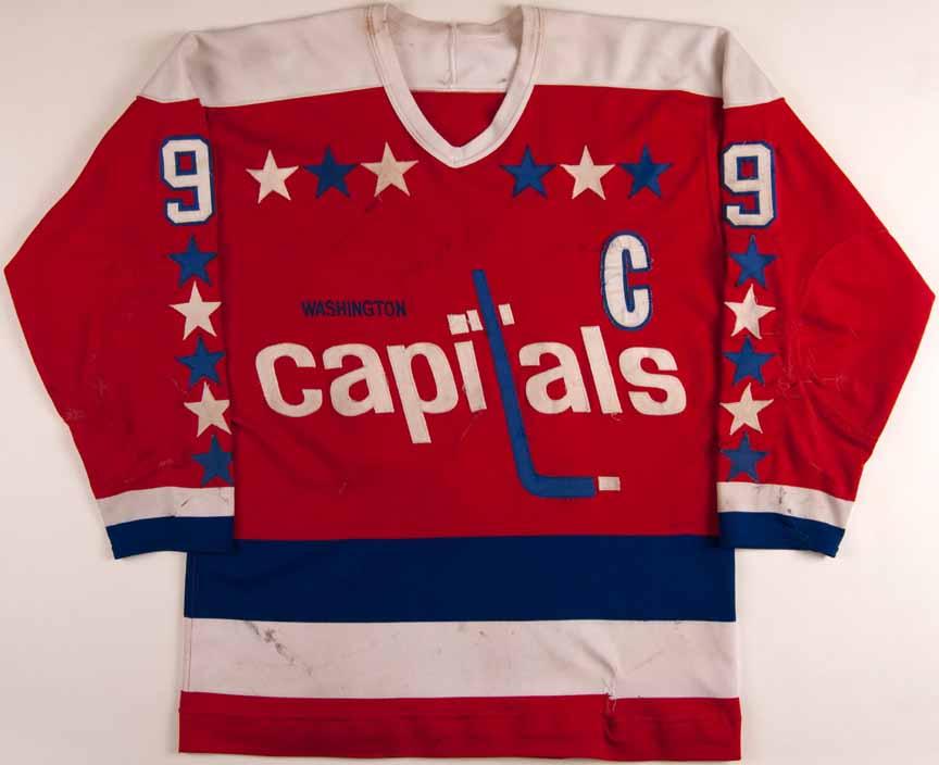 1980-81 Ryan Walter Washington Capitals Game Worn Jersey ... 11d23c143c7