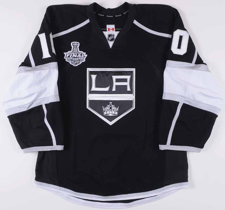 """2013-14 Mike Richards Los Angeles Kings Stanley Cup Finals Game Worn Jersey  – """" c97ae22c6"""