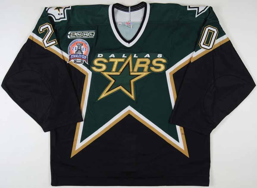 1999-00 Ed Belfour Dallas Stars Stanley Cup Finals Game Worn Jersey -