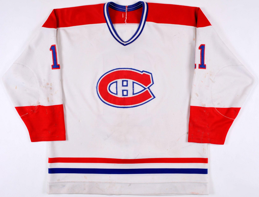 sports shoes 8e131 55f2a Mid 1980's Ryan Walter Montreal Canadiens Game Worn Jersey ...