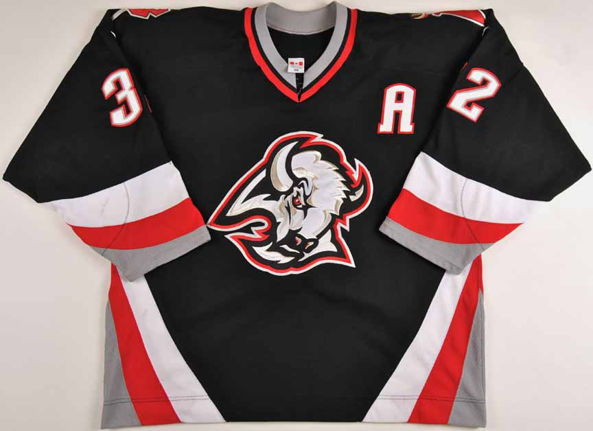 get buffalo sabres game worn jersey from crease to crease 210cf f40a7 0dc34b9ce