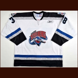 2004-05 Erik Schwanz Idaho Steelheads Game Worn Jersey