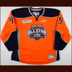 2010 A.J. Thelen ECHL All Star Game Worn Jersey – PHPA Letter