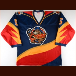 1997-98 Wade Clubb Erie Otters Game Worn Jersey