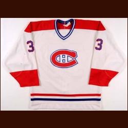 5b5f60b97 1986-87 Patrick Roy Montreal Canadiens Game Worn Jersey ...