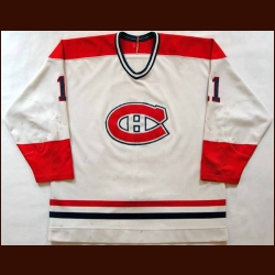 Mid 1980's Ryan Walter Canadiens Game Worn Jersey