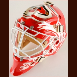 Sean Burke Carolina Hurricanes Game Issued/Practice Worn Mask