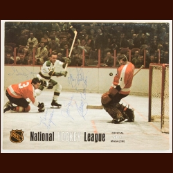 December 6, 1968 Oakland Seals Full Program – Signed by 5 Including Joe Szura & Carol Vadnais