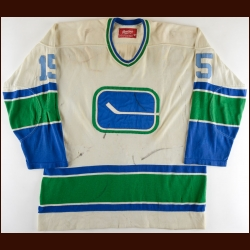1977-78 Hilliard Graves Vancouver Canucks Game Worn Jersey
