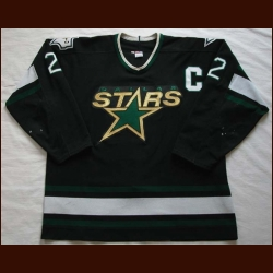 1998-99 Derian Hatcher Stars Game Worn Jersey