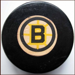 Boston Bruins Old Style Logo Puck