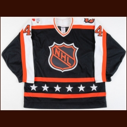 "1989 Rob Brown NHL All Star Game Worn Jersey – ""Edmonton, Alberta 40th NHL All Star Game"""