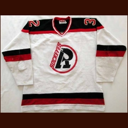 Circa Late 1980's Richmond Sockeyes Game Worn Jersey - Player #32