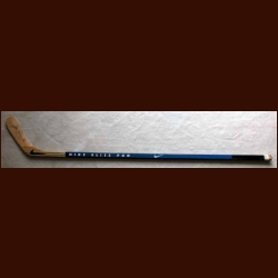 Mats Sundin Blue Nike Game Used Stick - Autographed
