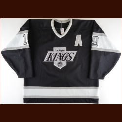 1990-91 Larry Robinson Los Angeles Kings Game Worn Jersey - The Patrick Roy Collection – Patrick Roy Letter