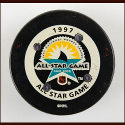 1997 NHL All Star Game FoxTrax Puck – Very Rare