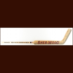 Ron Hextall Philadelphia Flyers Sher-Wood Team Signed Stick – 1996-97 Stanley Cup Finals