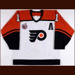 1992-93 Kevin Dineen Philadelphia Flyers Game Worn Jersey