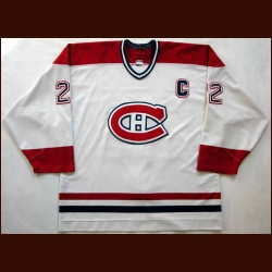 2000-01 Eric Weinrich Canadiens Game Worn Jersey