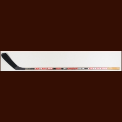 Uwe Krupp Detroit Red Wings Black CCM Game Used Stick