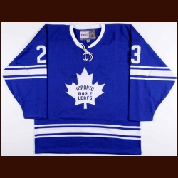 Eddie Shack Toronto Maple Leafs Autographed Replica Jersey