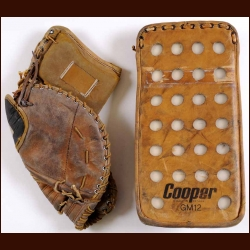 1970's Cooper GM 12 Goalie Blocker and Catcher