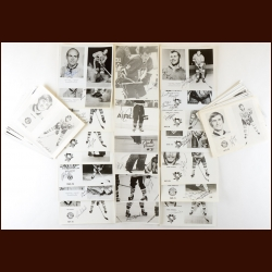 Pittsburgh Penguins Autographed Group of (76) – Includes Deceased