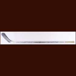 Chris Chelios Detroit Red Wings Silver Easton Game Used Stick – Autographed