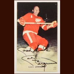 Gary Bergman Detroit Red Wings 3x5 Color Autographed Photo – Deceased