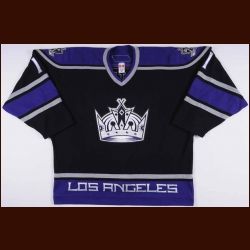 2006-07 Anze Kopitar Los Angeles Kings Game Worn Jersey – Rookie – Team Letter