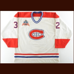 "1992-93 Mario Roberge Montreal Canadiens Game Worn Jersey – ""1993 Stanley Cup Finals"" – Stanley Cup Season – Mario Roberge Letter"