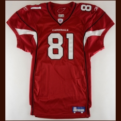 2007 Anquan Boldin Arizona Cardinals Game Issued Jersey – Autographed – PSA/DNA