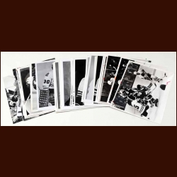 Lot of 50 Chicago Black Hawks B&W photos Mostly from the 1978-79 Season