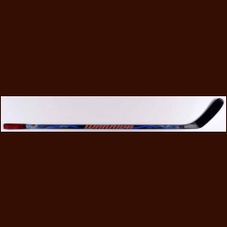 Tomas Holmstrom Detroit Red Wings Blue Warrior Game Used Stick