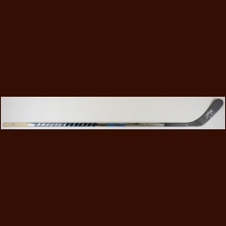 Chris Pronger Philadelphia Flyers Silver Warrior Game Used Stick – Autographed