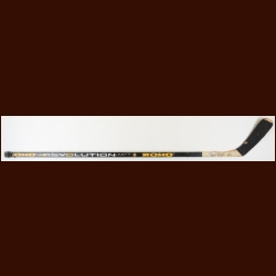Kevins Stevens Pittsburgh Penguins Black Koho Game Used Stick – Autographed