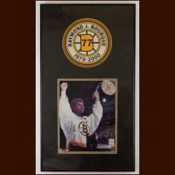 Ray Bourque Boston Bruins Autographed Matted & Framed Display