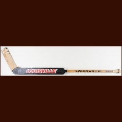 Murray Bannerman Chicago Blackhawks Black Louisville Game Used Stick