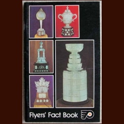 1975-76 Philadelphia Flyers Team Signed Flyers Media Guide/Fact Book - Signed by 28 including Shero, Ashbee, Clarke & Parent