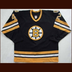 1987-88 Bob Sweeney Bruins Game Worn Jersey