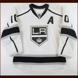 2012-13 Mike Richards Los Angeles Kings Game Worn Jersey - Photo Match – Team Letter
