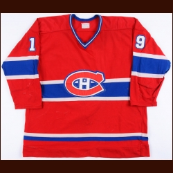 1977-78 Larry Robinson Montreal Canadiens Game Worn Jersey - Conn Smythe Trophy - All Star Season - 2nd Team NHL All Star - Photo Match