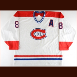1995-96 Mark Recchi Montreal Canadiens Game Worn Jersey
