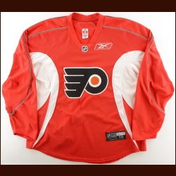 2007-08 Steve Downie Philadelphia Flyers Practice Worn Jersey – Rookie