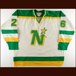 1979-80 Steve Payne Minnesota North Stars Game Worn Jersey - 2nd NHL Season - Career Best 42-Goal & 85-Point Season - All Star Season