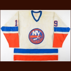 1981-82 Bryan Trottier New York Islanders Stanley Cup Finals Game Worn Jersey - Only 50-Goal Season - 2nd Team NHL All Star - All Star Season - Photo Match