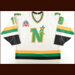 "1990-91 Bobby Smith Minnesota North Stars Stanley Cup Finals Game Worn Jersey – ""1991 Stanley Cup Finals"" – Photo Match"